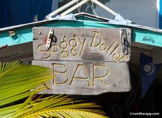 Soggy Dollar Bar at Jost Van Dyke, BVI