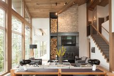 Gorgeous Whistler Chalet RenovationA bold renovation transforms a dowdy Whistler cabin into a modern marvel designed with entertaining in mind. | Western Living Magazine