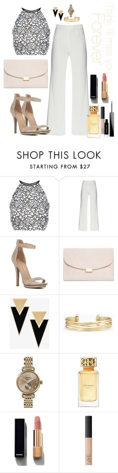 """"" by saraprifti ❤ liked on Polyvore featuring Keepsake the Label, Mansur Gavriel, Yves Saint Laurent, Stella & Dot, Shinola, Tory Burch, Chanel, NARS Cosmetics and Givenchy"