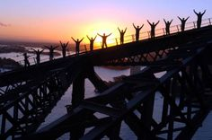 Sydney Harbour Bridge climb at Twilight: www.ytravelblog.com/sydney-harbour-bridge-climb/