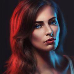 Blue Eyes, Angel Ganev on ArtStation at https://www.artstation.com/artwork/blue-eyes-326afa4e-ae3d-4b81-ba1d-0bab4158e61d