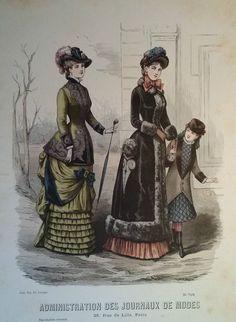 Administration des Journaux de Modes circa 1882