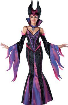 Ladies Emerald Witch Queen Sorceress Halloween Fancy Dress Costume UK Sizes 6-20
