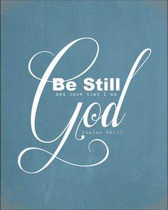 Psalms 46:10 by AltusPhotoDesign