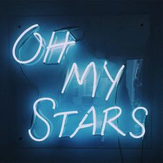 Light Blue Aesthetic, Aesthetic Colors, Aesthetic Space, Foto Gif, Neon Quotes, Neon Words, Everything Is Blue, Light Quotes, Blue Walls