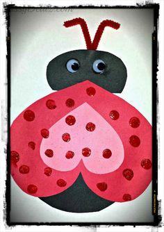 Soy Preescolar: #Ideas para la #Escuela  | Háblales a los niños de la naturaleza y vayan preparando mucho amor para el próximo año. Para realizar esta catarina (lady bug), se requiere un gran corazón. Tus pequeños y tú tienen uno muy grande. ツ |   Enseñanza #Preescolar. ¿Qué es Innovación?