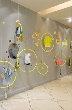 Resultado de imagen para window display lines american apparel