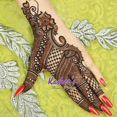 "911 Likes, 2 Comments - Punjabi's  (@punjabi_married_jodiya) on Instagram: ""###"" #mehndi #designs"