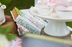 Grab your hat and your elegant mittens too; this stunning Secret Garden Birthday Party at Kara's Party Ideas will make your dreams come true! Secret Garden Book, Secret Garden Parties, Garden Fence Art, Garden Theme, Glass Garden, Garden Party Favors, Kid Party Favors, Graduation Party Themes, Country Garden Weddings