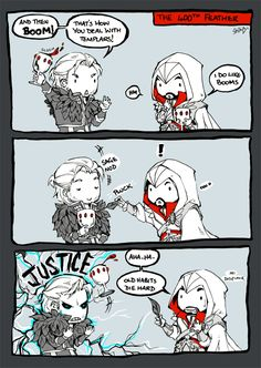 For great justice by *seisei on deviantART #AssassinsCreed #DragonAge