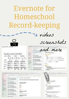 Evernote for Homeschool Record-Keeping » Simply Convivial