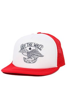 57f265477a5 The Baldy Trucker Hat in Reinvent Red by Vans