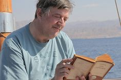 Stephen Fry reading. I wish he would make an audio book for every book ever.