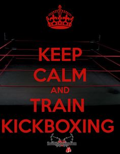 Keep Calm and Train Kickboxing  http://www.iLoveKickboxing.com…
