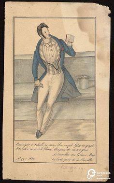 'Le Conseiller des Grâces' n. 77, Tallois, rue du Curé, Bruxelles, 1830.  Courtesy Bibliothèque royale de Belgique, all rights reserved.