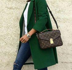 Green coat it is