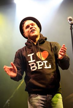 Olly Murs in his I Heart BPL Hoodie by visitblackpool, via Flickr