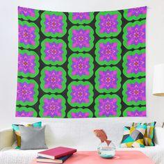 """Mandala Lotus Flower "" Tapestry by Pultzar   Redbubble"