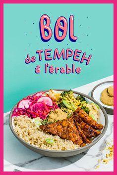 Vegan Recepies, Vegetarian Recipes, Healthy Recipes, Tempeh, Tofu, Vegan Scones, Vegan Lunches, New Cooking, Complete Recipe