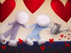 Love Keeps Growing by Doug Hyde - Contemporary Paintings & fine art pictures available in our gallery - Free delivery on all orders over I Love Heart, My Love, Art Pictures, Art Pics, Looking For Love, Hyde, Contemporary Paintings, Fine Art, My Favorite Things