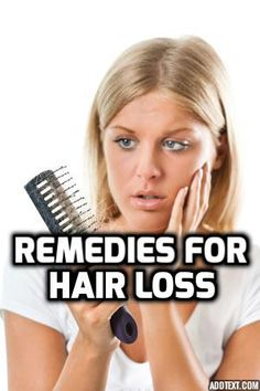 How To Treat #Hair #Loss And #Baldness? #Natural Home #Remedies http://bit.ly/14dOibC