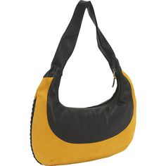 John Cole Charlize - Apricot/Night - Hobos (€160) ❤ liked on Polyvore featuring bags, handbags, shoulder bags, leather handbags, yellow, hobo shoulder bags, yellow leather handbag, leather shoulder handbags, hobo shoulder handbags and hobo handbags
