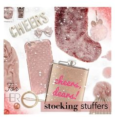 """""""Gift Guide: Stocking Stuffers"""" by stacey-lynne on Polyvore featuring Mint Velvet, Tory Burch, Cara, Jocelyn, Forever 21, Yves Saint Laurent, Kate Spade, Bloomingdale's, John Lewis and GUESS"""