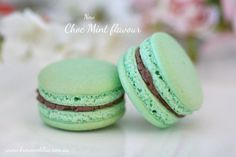 Love mint? Then you'll love our new choc mint macaron flavour!