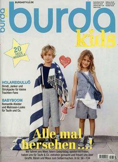 Einfach das schönste Cover des Tages ♥ Gefunden in: Burda Style Spezial, Nr. 73/2014