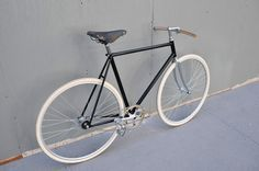 Beautifully simple ride and wood bars.