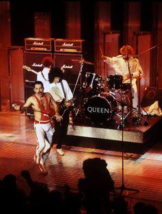 Queen en Montreux, 1984.