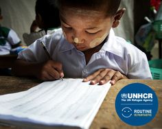 Routine is Fantastic. UNHCR  La routine, per te qualcosa da cui evadere, per qualcuno una conquista. Restituiamo insieme la quotidianità ai rifugiati e aiutiamo 172.000 bimbi a tornare a scuola. Racconta la tua routine e dona.