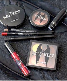 coleção Malévola: Os truques de maquiagem da vilã mais bem sucedida.