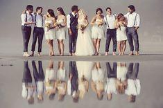 Erin Wallis Photography, Tofino, BC wedding, wedding reflections, foggy wedding