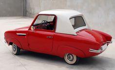 Vintage Mode, Vintage Cars, Rockabilly Vintage, Microcar, Weird Cars, Futuristic Cars, Unique Cars, Top Cars, Cute Cars