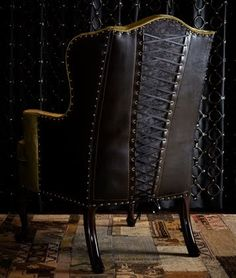 Corset chair for Gothic / Steampunk look