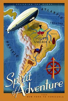 Zeppelin Travel South America Brazil Argentina Chile Rio de Janeiro Travel Tourism Vintage Poster Repro X Image Size. We Have Other Disney Up, Draw Disney, Disney Pixar, Up Pixar, Disney Villains, Poster Disney, Pixar Poster, Movie Posters, Retro Posters