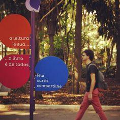 Espaço de Leitura, Parque da Água Branca - São Paulo, SP