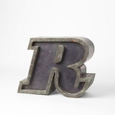 ROMANIA Circa 1970  SIZE Height: 11 cm Depth: 4 cm Letter D, Romania, Deco, Metal, Decor, Metals, Deko, Decorating, Decoration