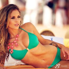 stunning bikini model Brittney Palmer : if you love #MMA, you'll love the funny & weird #MixedMartialArts and #UFC inspired designs at CageCult: http://cagecult.com/mma