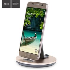 HOCO CW1 Micro USB desktop Chargers & Docks stand Charging Holder for SamSung Galaxy A7 A8 Xiaomi RedMi 3S Note 4 3 Androids