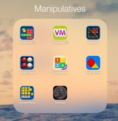 Math manipulative Apps for the iPad