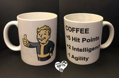 Fallout 4 Mug, Custom Photo Mug, Gamer mug, Fall out 4 Mug, Anniversary gift, Christmas Gift, Personalized Mug, any photo mug
