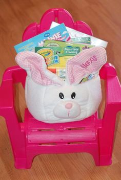 Easter basket ideas for toddlers and babies goodies to put in everything but the candy easter baskets for little girls mama say what negle Images
