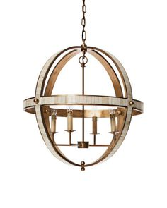 Mr brown galaxy chandelier- oval