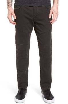 True Religion Brand Jeans True Religion Rocco Active Slim Fit Biker Pants available at #Nordstrom