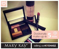 Rano nie masz czasu? Nic nie szkodzi. Z Mary Kay wystarczy 5 minut i kilka kosmetyków, aby wyglądać olśniewająco.  #marykaypolska