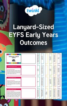 All of the EYFS Early Years Outcomes, right from birth through to Early Learning Goals, in a handy size perfect for attaching to a lanyard! Early Years Outcomes, Early Years Maths, Education Humor, Early Education, Learning Goals, Early Learning, Language Development, Child Development, Infant Lesson Plans