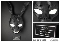 Dark Side of the Paper Franck : Imaginary friend of Donnie Darko  Monsieur Oscar www.monsieuroscar.com