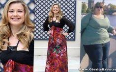 18 Ayda 95 Kilo Veren Genç İngiliz Kadının Başarı Öyküsü ❤  www.obezitehaber.com